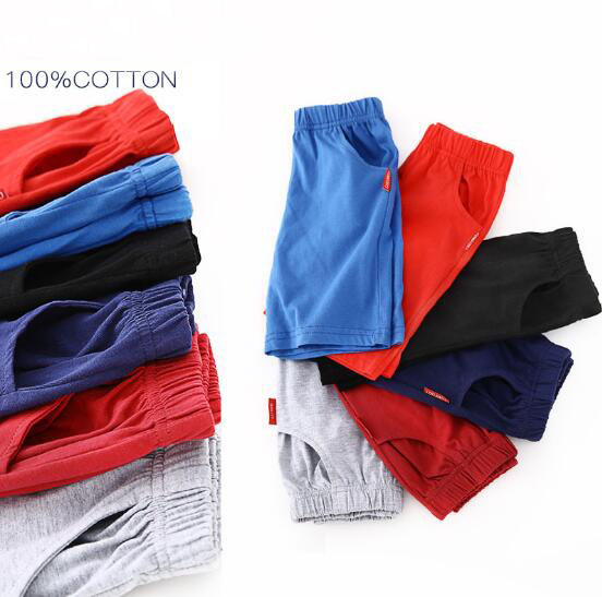 2-10T Summer Children   Shorts   Cotton   Shorts   For Boys Girls   Shorts   Toddler Panties Kids Beach   Short   Sports Pants Baby Clothing