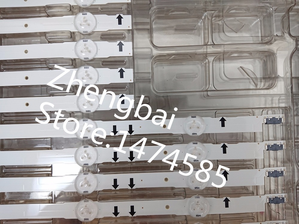 New Kit 12 PCS LED strip for Samsung UE55H6300A D4GE-550DCA-R3 D4GE-550DCB-R3 BN96-30432A BN96-30431A BN96-30430A 30429A