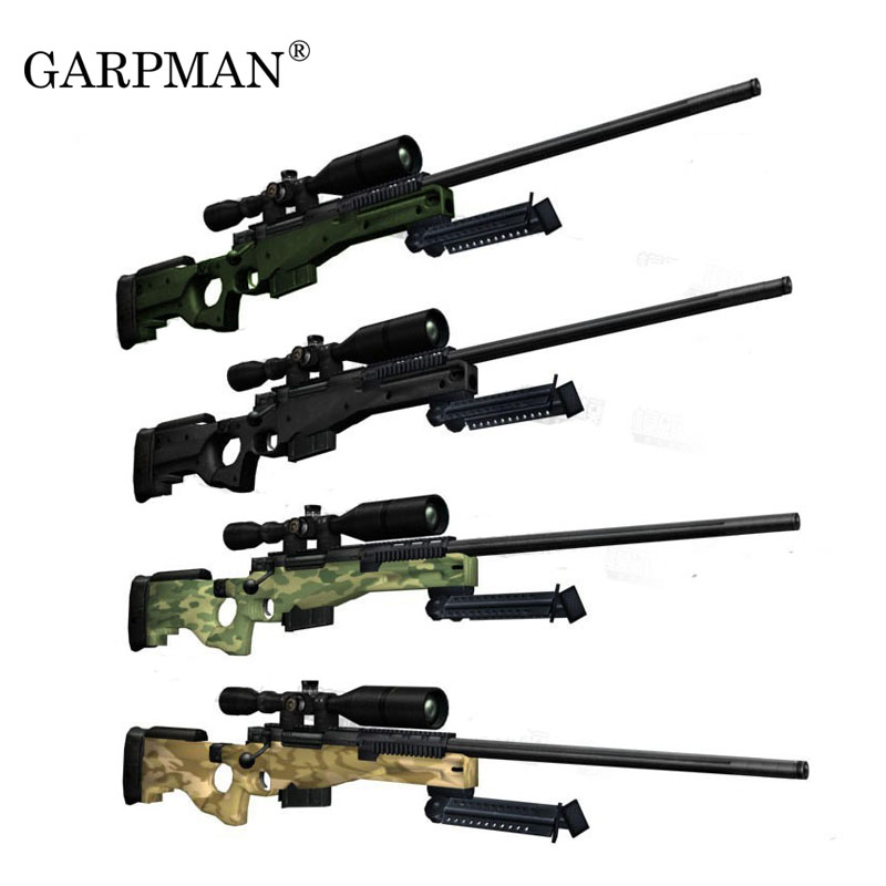 120cm 1:1 AWP Sniper Rifle 3D Paper Model Weapon Gun Puzzle Hand-made  Paper Toy