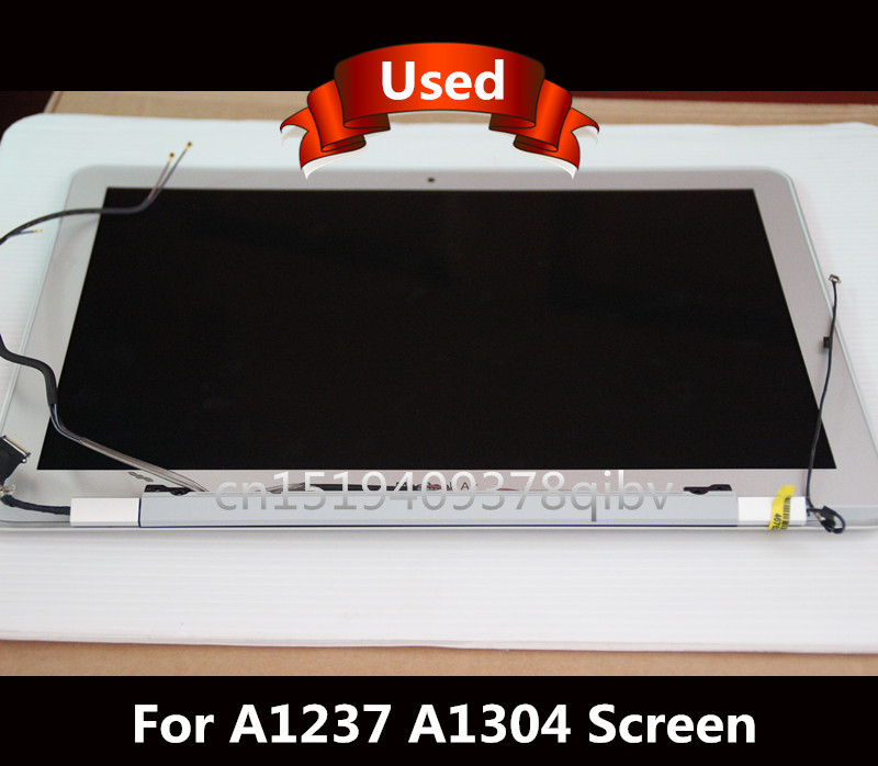 Tested LCD LED Display Screen Assembly For Macbook Air 13.3 A1237 A1304 100% Working аксессуар аккумулятор tempo a1245 7 4v 5200mah для apple macbook air 13 a1237 a1304 mb940lla