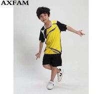 2017 Summer Trainning Football Children Clothing Sets Boys Jerseys Soccer Shirts Shorts 2Pcs Kids Boy Sports