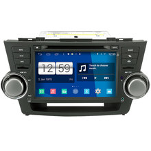Winca S160 Android 4.4 System Car DVD GPS Headunit Sat Nav for Toyota Highlander / Kluger 2008-2012 with Wifi / 3G Host Radio