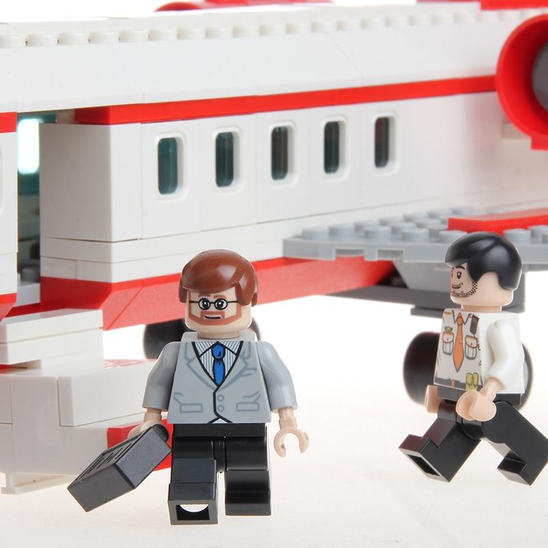 GUDI Avion jouet Building Block 334 pcs Série Aérospatiale Privé - Concepteurs et jouets de construction - Photo 3