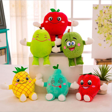 New Style Lovely Fruits Apple Pear Strawberry Plush Toy Stuffed Doll Creative Gift Send to Children