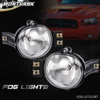 For 2002 2008 Dodge Ram 1500 2500 3500 2004 2006 Dodge Durango Fog Lights Pair Bulb