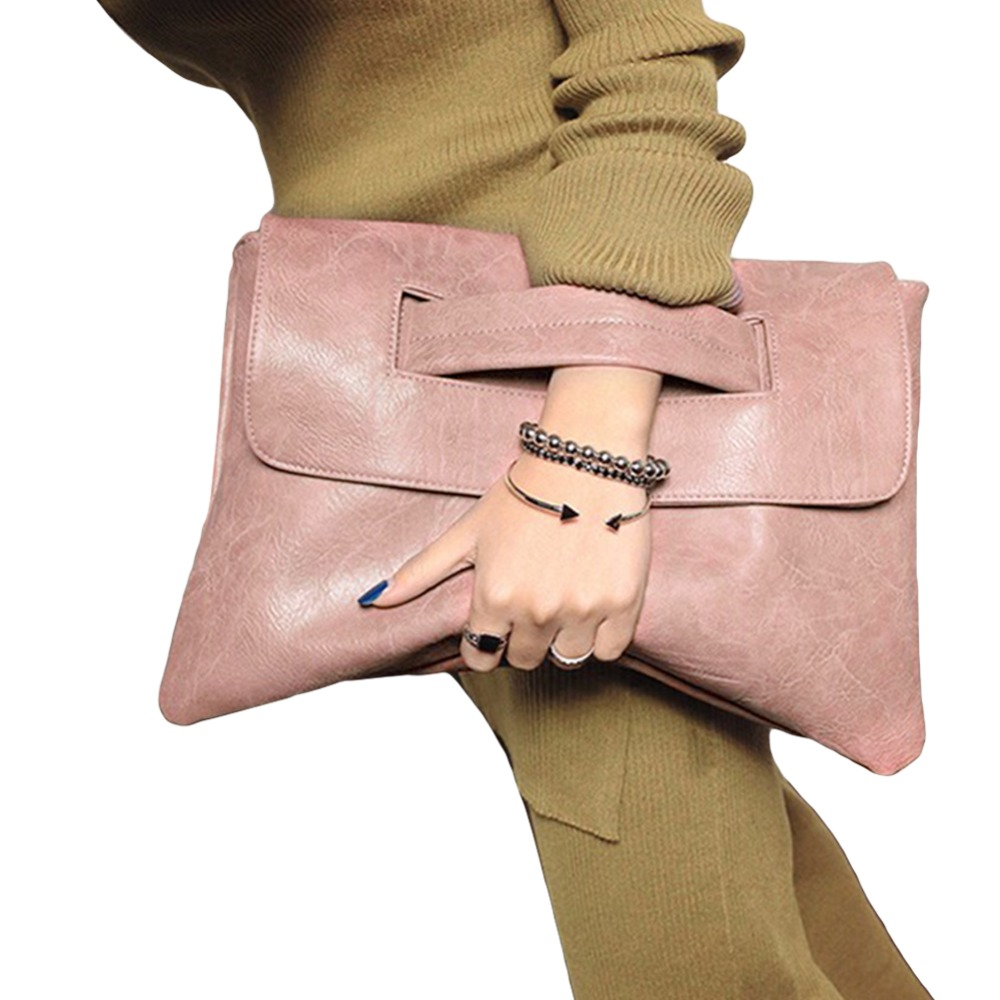 222653fd260f Hot Selling Women envelope clutch bag leather women Crossbody Bags for women  trend handbag messenger bag female Ladies Clutches