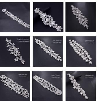 Cinturón de diamantes de imitación para ropa, 1 pieza, accesorios para coser,...