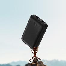 18650 baterii mini powerbank 10000 mAh zewnętrzna bateria przenośna ładowarka samochodowa podwójna ładowarka powerbank USB dla Xiao mi mi iphone X Samsung tanie tanio Awaryjne przenośne Podwójny USB Jednokierunkowa Szybkie Ładowanie Tollcuudda 5 V 2A 18650 Bateria Litowa CE ROHS FCC