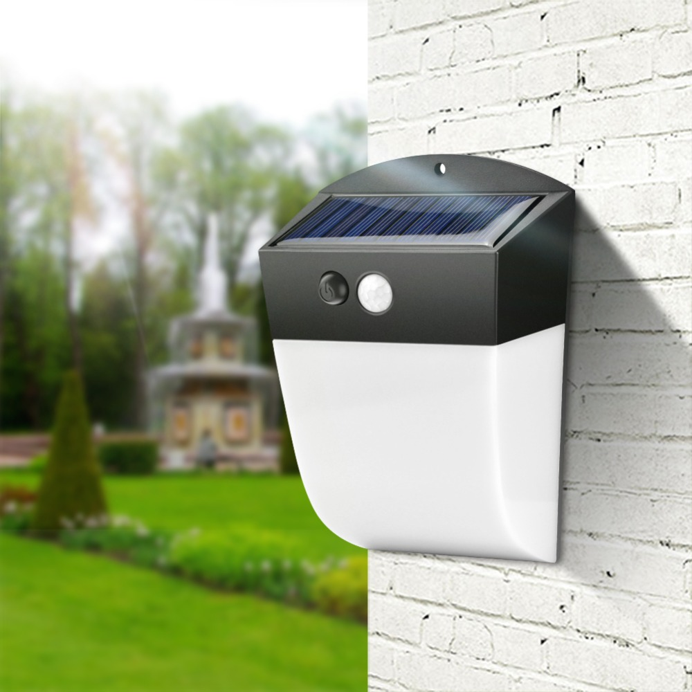 Eclairage Exterieur Solaire Led Us 12 19 30 Off Solar Led Light Outdoor Motion Sensor Solar Lamp Waterproof Garden Lighting Eclairage Exterieur Led Solaire Solarlampe In Solar