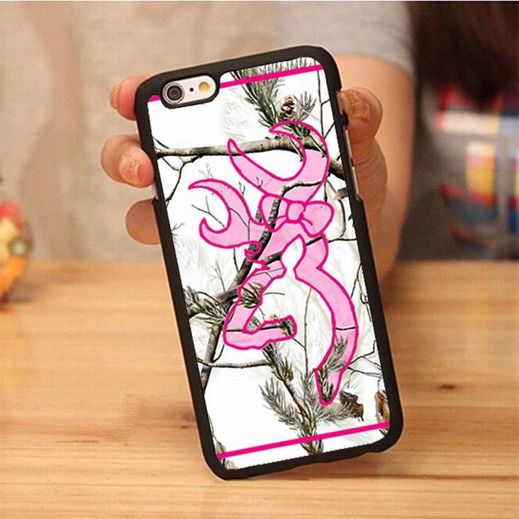 quality design 2da4a 794d1 US $3.99 |Browing Mossy Oak Camo Soft Rubber Back Case Cover For iPhone 6  6S Plus 7 7 Plus 5 5S 5C SE 4 4S Mobile phone bag-in Fitted Cases from ...