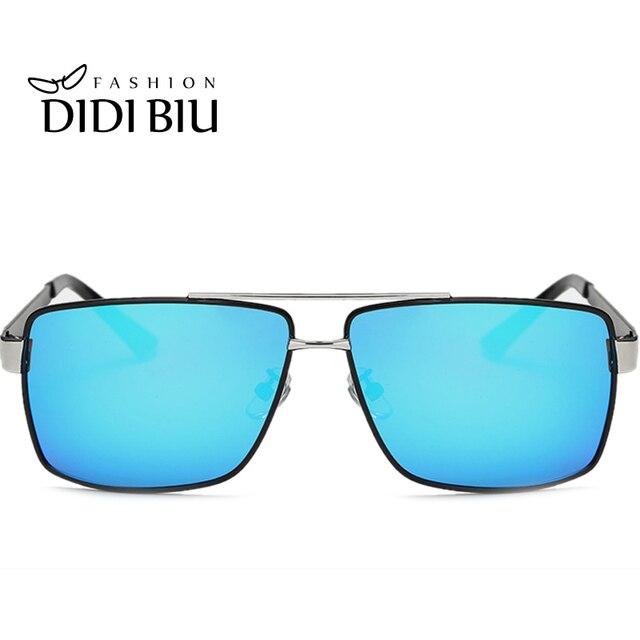 7204028f064 DIDI Square Polarized Sunglasses Men Uv400 Driving Sun Glasses Flat Top  Wide Glasses Women Prescription Eyewear Frames U627