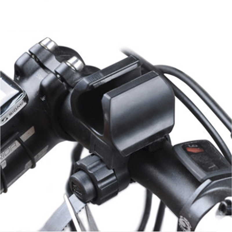 Bicycle Light Holder Bike Lantern Bracket Flashlight Torch Mount Clamp Lamp Clip Cycling LED Lights Device Installation Parts alonefire cycling grip mount bike clamp clip bicycle flashlight led torch light holder plastic clip flashlight holder