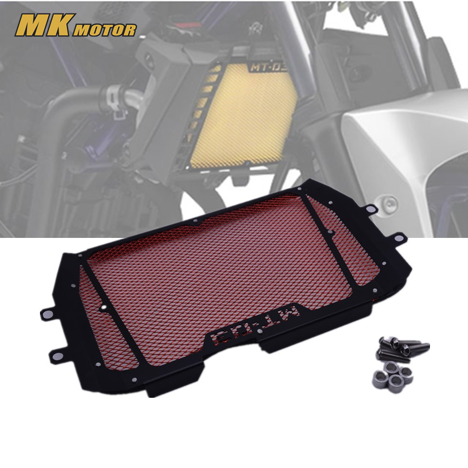 MT-03 Radiator Grills Grille Guard Cover Protector For Yamaha MT 03 mt-03 2015 2016 2017 motorcycle radiator grill grille guard screen cover protector tank water black for bmw f800r 2009 2010 2011 2012 2013 2014