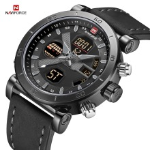 New NAVIFORCE Brand Men Watch Analog Quartz Wristwatch Water