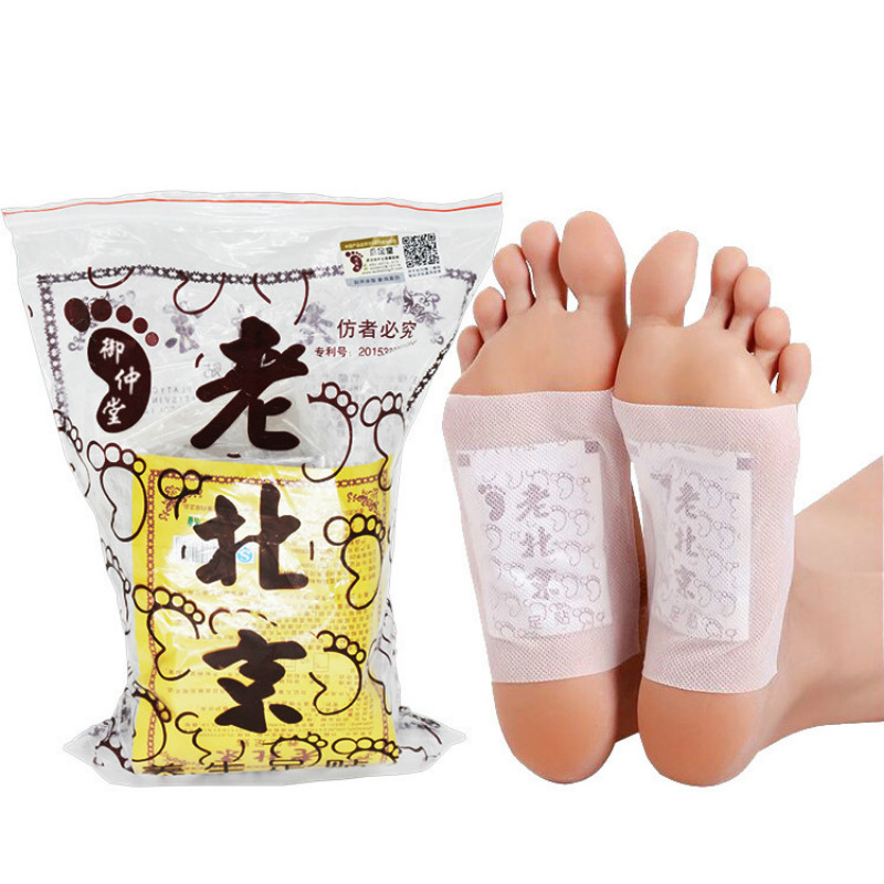 Skin Care Tools 10 Pcs Detox Foot Patches Body Toxins Feet Slimming Cleansing Feet Care Medical Plaster Pads Herbal Adhesive Detoxify Slim Foot Care Tool