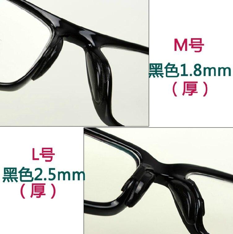 Silica gel anti slip nose pad of acetate glasses pad eyeglasses ...