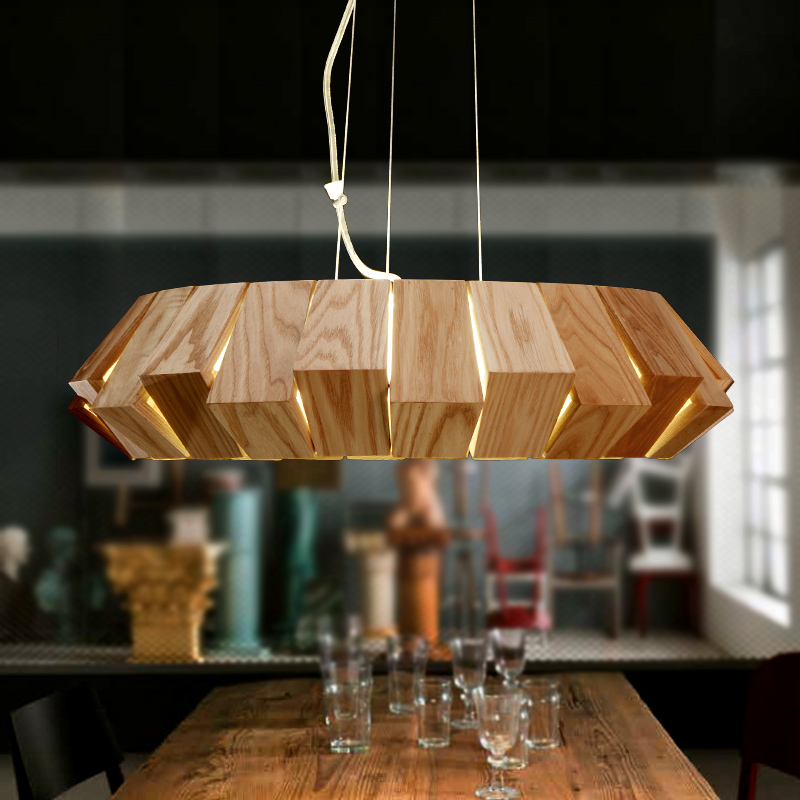 Modern fashion Wood pendant light fixture brief home deco led pendant lamp modern brief creative wood cone pendant light fixture home deco dinning room and restaurant e27 pendant lamp