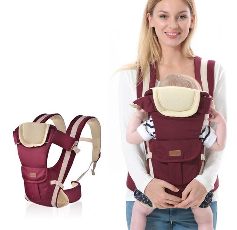 multifuncional ergonomico canguru respiravel alca de bebe portador do bebe envoltorio cinto recem nascido cinto de