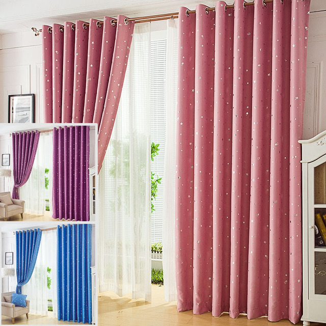 European And American Contemporary Contracted Curtain, The Shading ...