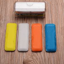 4 Pieces/Box Sewing Chalk Dressmakers Tailor Chalk for Fashion Designer DIY Making Sewing Machines Spare Parts