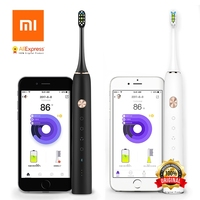 Xiaomi Soocare X3 Soocas Smart Bluetooth Wireless Charge Waterproof Acoustic WaveTooth Sonic Toothbrush Via Smartphone Control