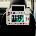 Портативная автомобильная подставка для заднего сиденья  подставка для крепления на подголовник для Ipad Iphone  держатель для мобильного телеф...