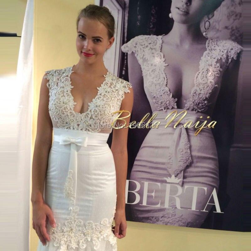 Aliexpress.com : Buy Off White Simple Sexy Wedding Dress Bohemian ...
