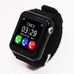 Image 5 - מקורי V7K GPS Bluetooth חכם שעון לילדים ילד ילדה אפל אנדרואיד טלפון ה SIM תמיכה/TF חיוג שיחה לדחוף הודעה