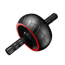 Abdominal Ab Roller belly Silence Wheel with Mat For Arm Waist Leg Exercise Gym Fitness Equipment Body Building
