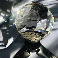 Vlogger Sfera di Cristallo Lente Magic Photo 1/4 Vite Della Sfera Lente Bagliore Effetto Decorativo Fotografia Accessori Studio
