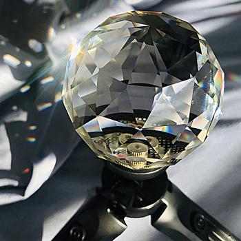 Vlogger kryształowe soczewki kuliste DIY dekoracyjne fotografia Studio akcesoria filtr DSLR magiczne zdjęcie 1 4 śruba kulkowa efekt blasku obiektywu tanie i dobre opinie ulanzi Vlogger Crystal Ball