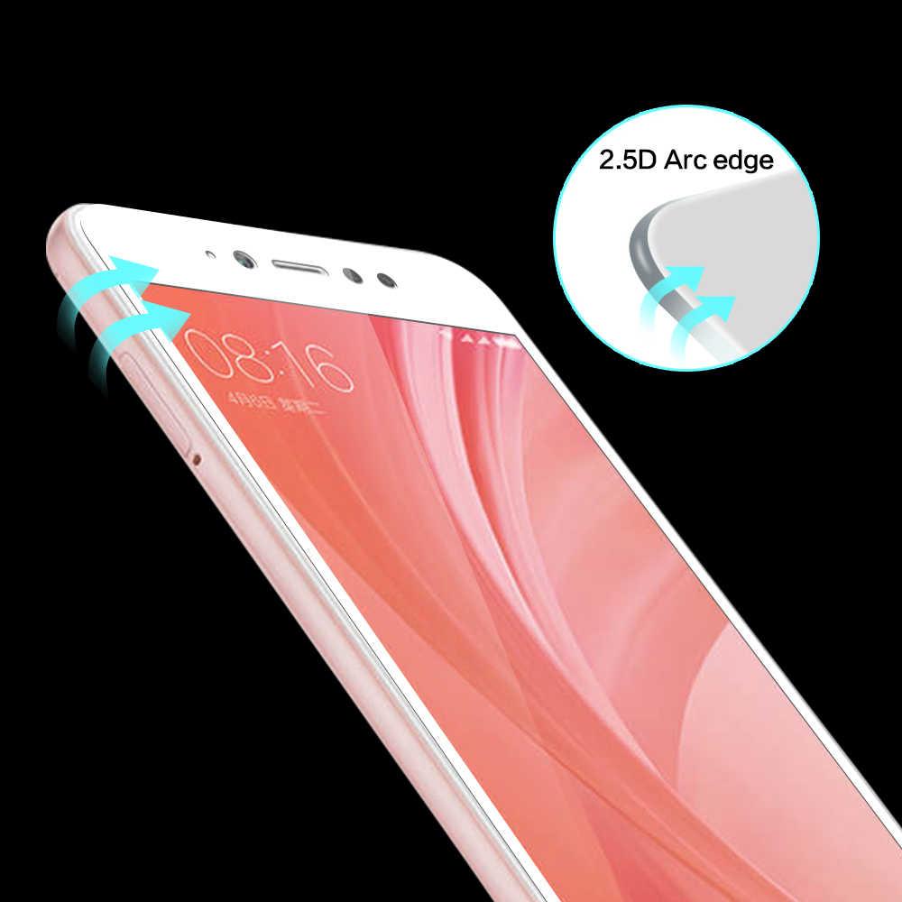 Закаленное Стекло для Xiaomi mi 8 Se 6 A1 A2 Red mi 5 Plus S2 Note 5a Pro Экран Full CoverFilm