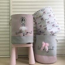 Складная корзина для белья для грязной одежда игрушки тканевая коробка корзинах для маленьких детей дома поднос для вымытой посуды сумка