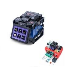Orientek T43 сварочный аппарат волокна Сращивание 9 s нагревание 30С с 9 языков волоконно-оптический прибор Производство