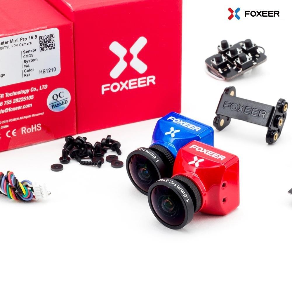"""Foxeer monstruo Mini Pro 1/2 9 """"CMOS 1,8/2,5mm 1200TVL 16:9 PAL/NTSC conmutable WDR FPV cámara rojo 1,8mm-in Partes y accesorios from Juguetes y pasatiempos on AliExpress - 11.11_Double 11_Singles' Day 1"""