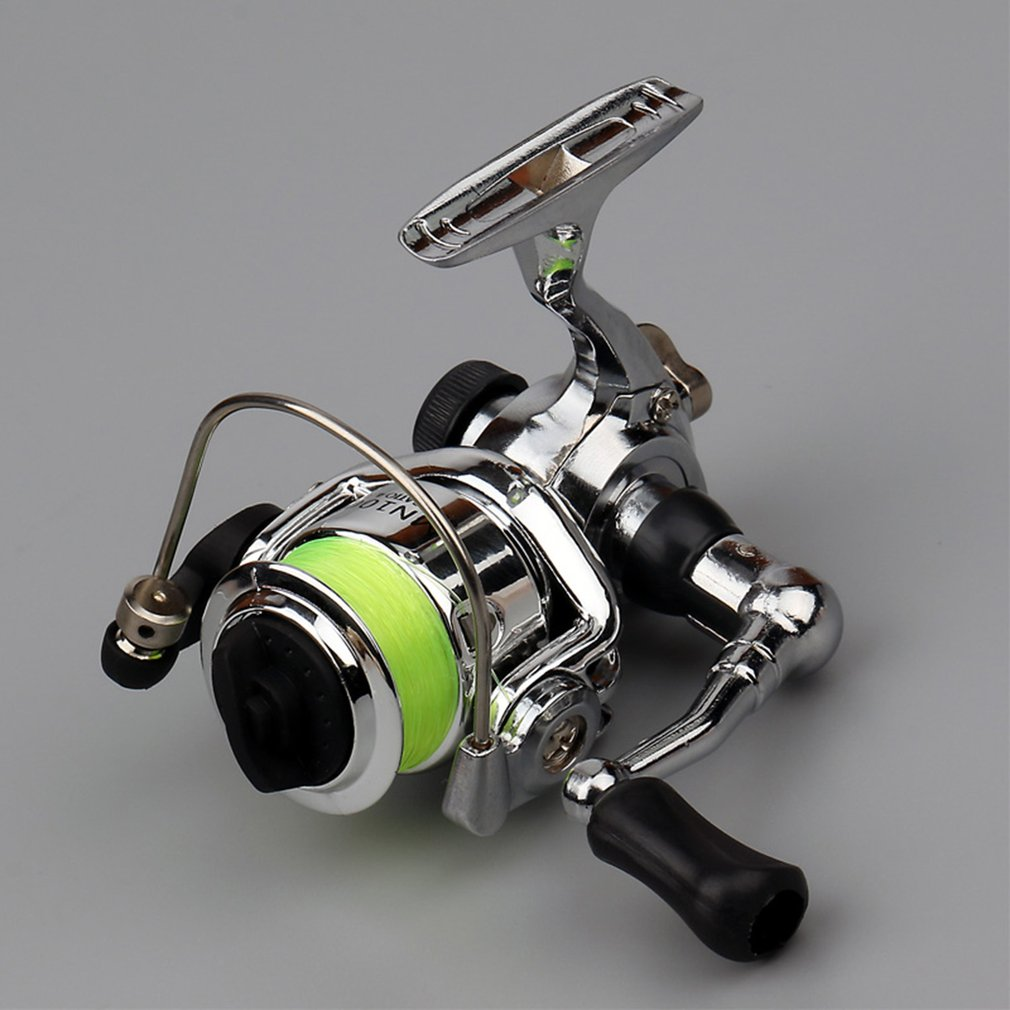 Mini XM100 Fishing Reel 2+1 Ball Bearings Stainless Steel Bait Casting Fishing Reels Fishing Tackle Accessories