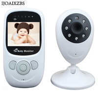 Wireless 2.4 LCD Color Baby Monitor Video Nanny Mini Security Camera Two Way Talk Night Vision Temperature Monitoring