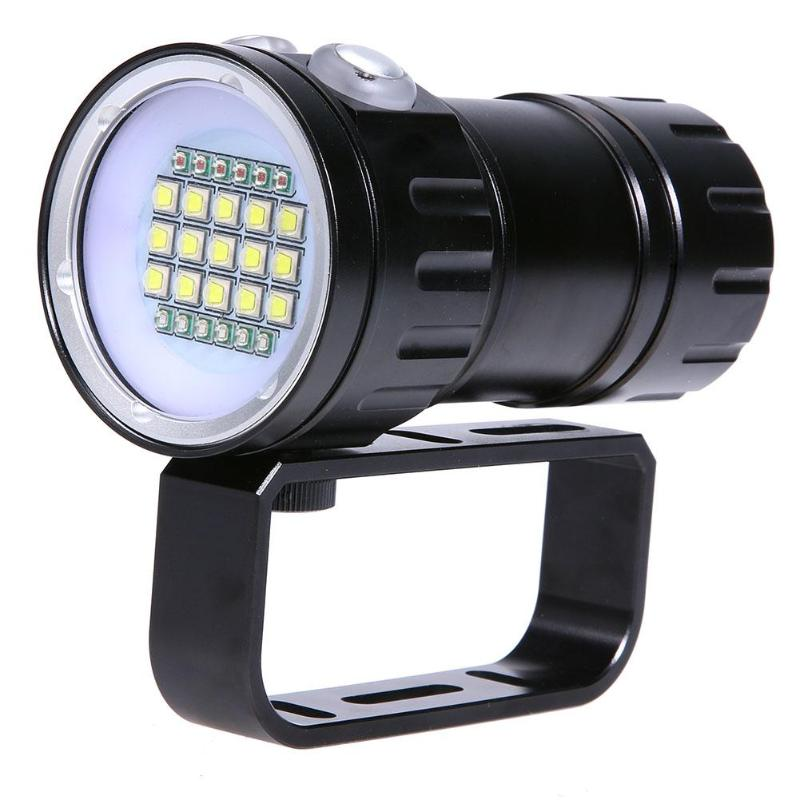 Diving Underwater 20XM L2 LED Video Camera Fill Light Lantern FlashlightDiving Underwater 20XM L2 LED Video Camera Fill Light Lantern Flashlight