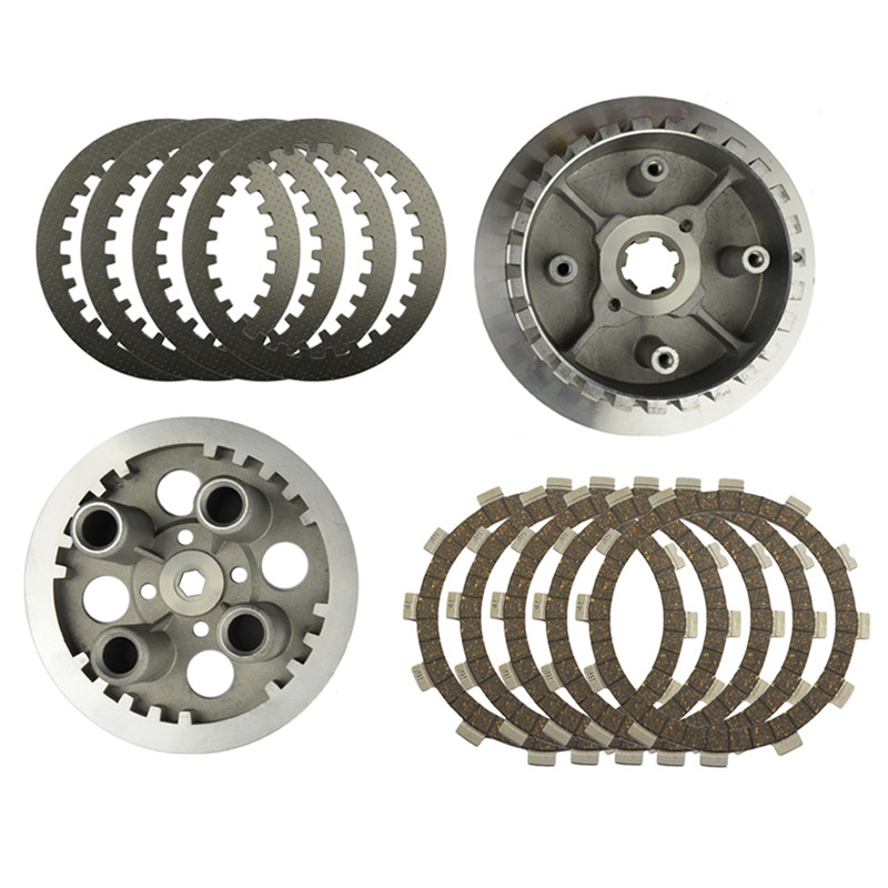 Motorcycle Engine Parts Clutch Drum Assy & Clutch Friction Plates & Steel Plates Kit For YAMAHA XV250 XV 250 цена
