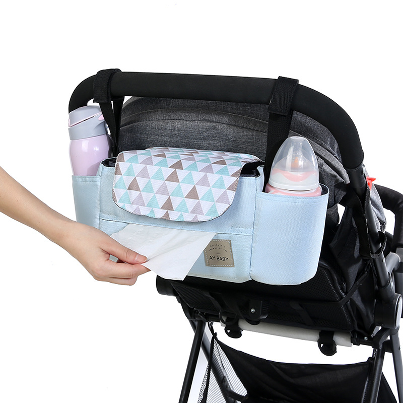 Us 14 55 50 Off Baby Stroller Bag Organizer Mummy Diaper Bag Infant Toddler Travel Nursing Hanging Nappy Bags Waterproof Mummy Bag For Stroller In
