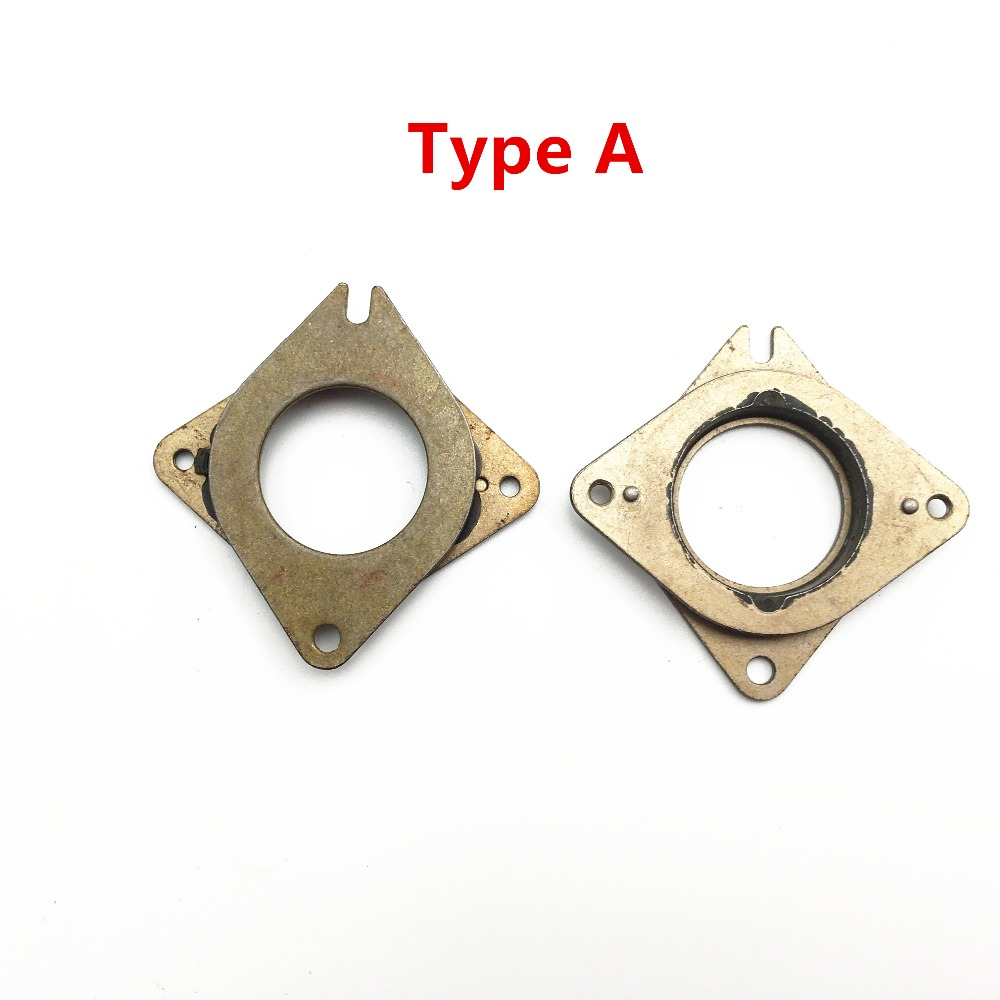 3 Metal Rubber Dampers Mounts for Nema 17 Stepper Motor 3D Printer RepRap Prusa