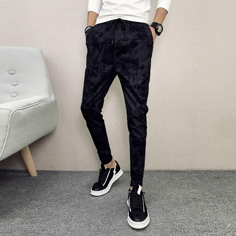 Brand New Men Pants Fashion 2018 Slim Fit Autumn Casual Harem Pant Hip Hop All Match Streetwear Mens Joggers Trousers 3xl-m Sale