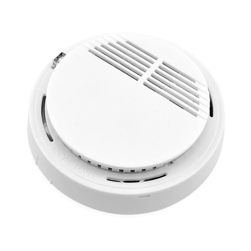 Wireless Rauch Brandmelder Alarm 433 mhz Stabile Photoelektrische Für Haus Büro GSM SMS Alarm System