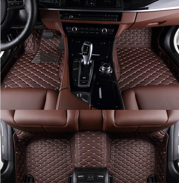 2018 Newly! Custom special floor mats for Ford Explorer 7 seats 2018-2011 waterproof car carpets for Explorer 2017,Free shipping