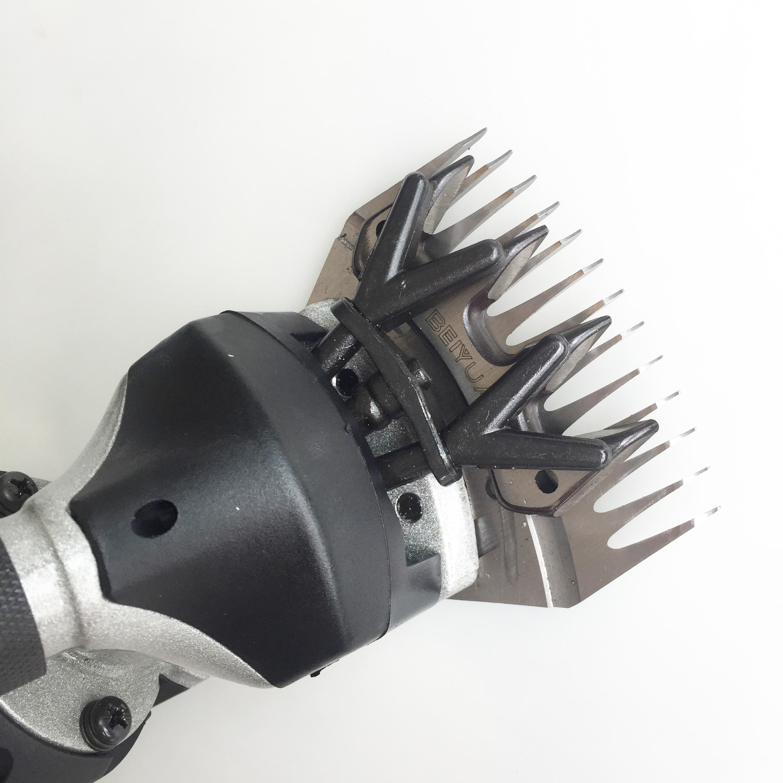 1080 W Elektrische Wolle Schafe Scheren Ziegen Clipper Tier Haar Scheren Maschine Trimmer Werkzeug 220 V Cutter Wolle Scissor für bauernhof Hom - 6