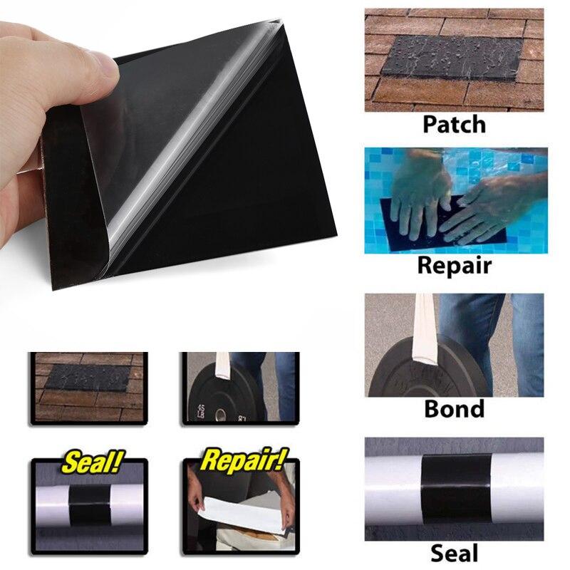 1/2/3pcs Super Strong Sealing Tape Fiber Waterproof Stop Leaks Seal Repair Tape Performance Self Fix Tape Fiberfix Adhesive Tape