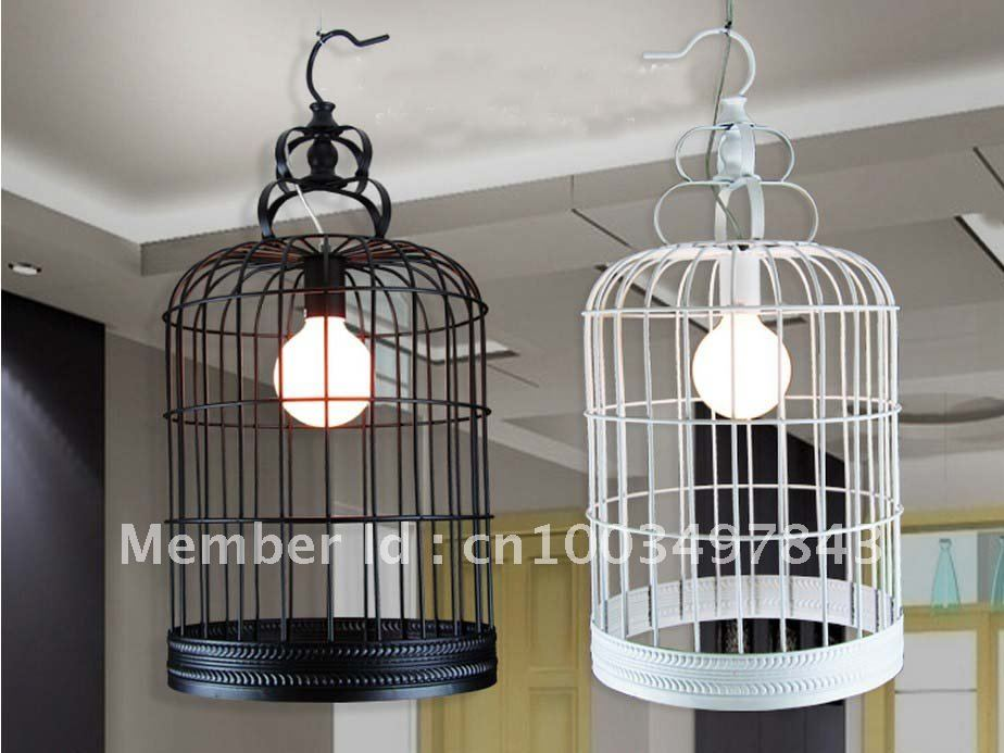Brand new Bird Cage Lighting Retro Industrial Birdcage Light Pendant Iron  CO71