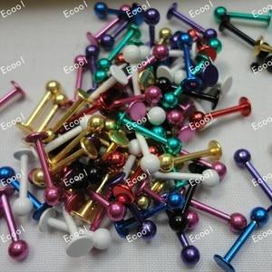 Image 2 - 300 adet toptan sürü mücevher Labret Dudak Vücut Pierce Meme Göbek Göbek Kaş Çubuğu Yüzükler dudak piercing ücretsiz kargo RL339