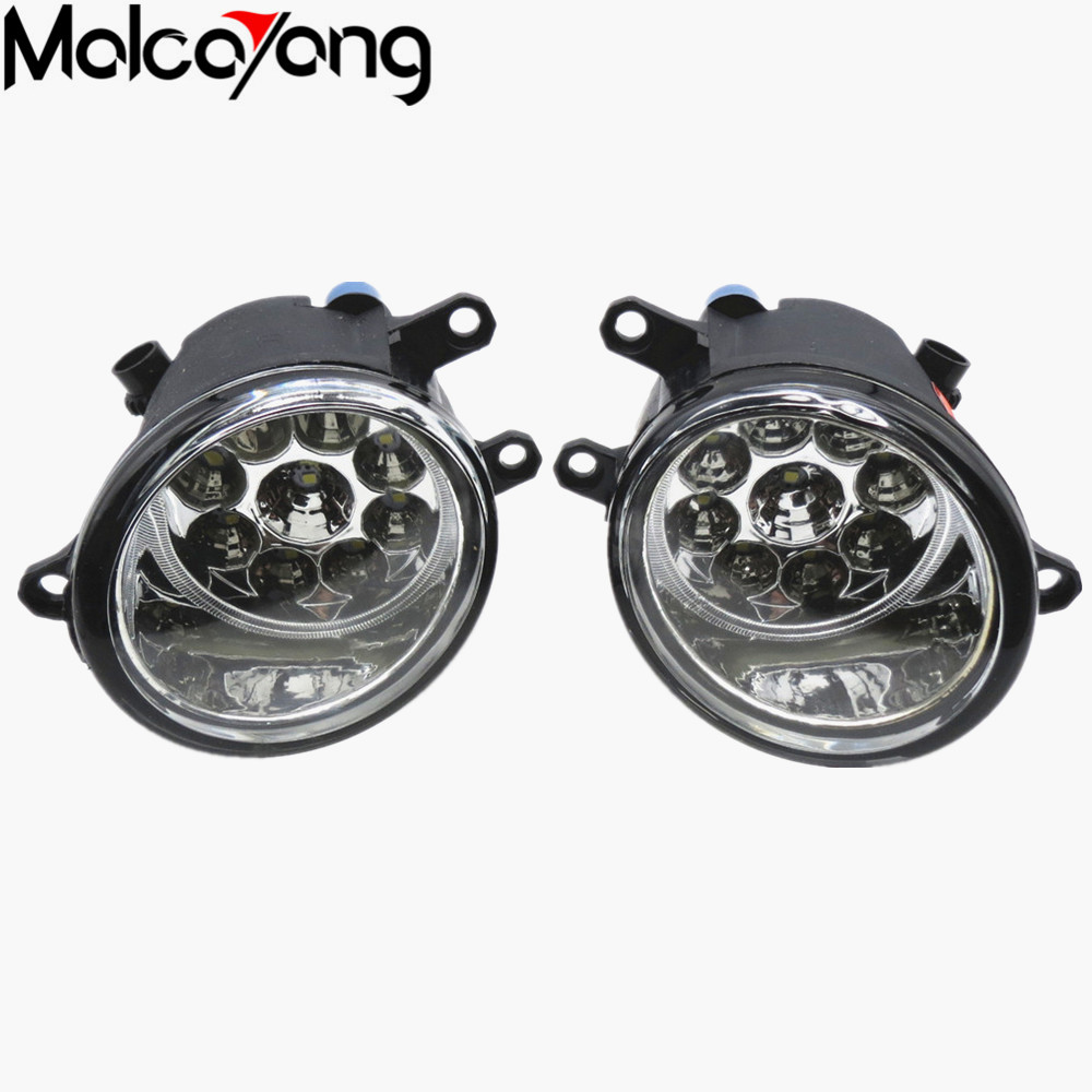 2 Pcs/Set Car-styling Front bumper light fog lamps For toyota PRIUS 2010/11/12/13/14/15 81210-06052 (Left + right) купить
