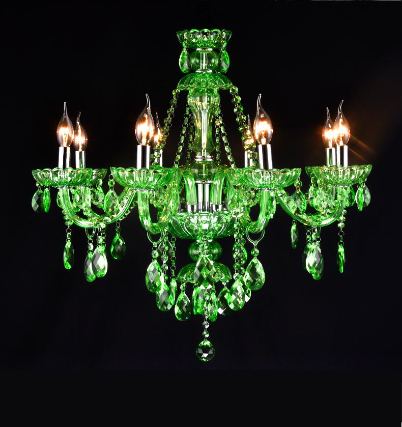 Bar 68 arms antique green lustre mano glass chandelier pendant product photos aloadofball Image collections